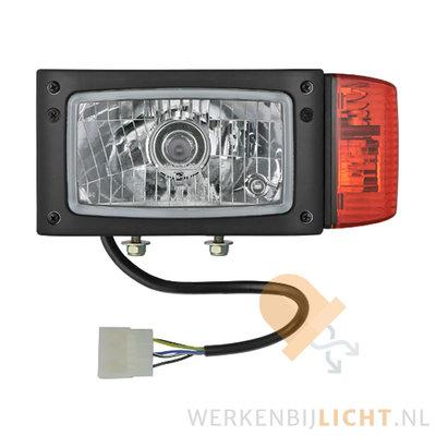Wesem Headlight REPR2 Left 12V