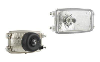 Headlamp H4 173x93x79 4-bolts mounting
