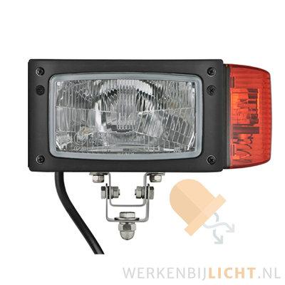 Wesem Headlight REPR1 Left 12V