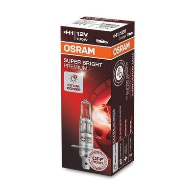 Osram H1 Halogen Bulb 12V 100W Super Bright Premium P14.5s