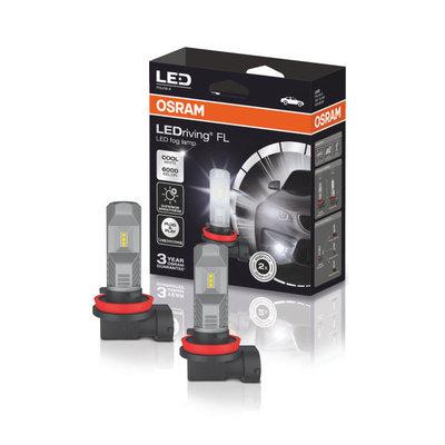 Osram H8/H11/H16 LED Foglight Set 12 volt