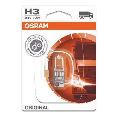 Osram Halogen lamp 24V Original Line H3, PK22s