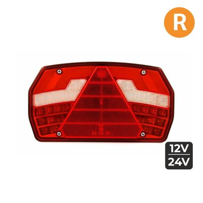 Led Tail light Right 6-Functions + Dynamic side indicator