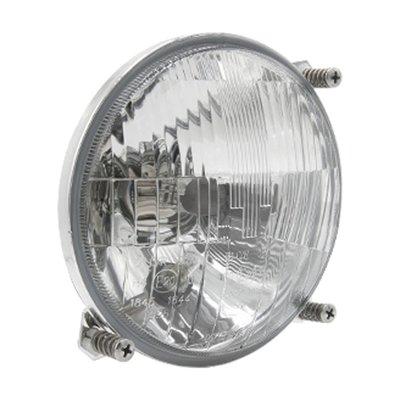 Headlight John Deere H4 Ø138mm 3-Bolt Mounting + Positon Light