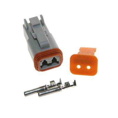 Deutsch-DT 2-pins female connector