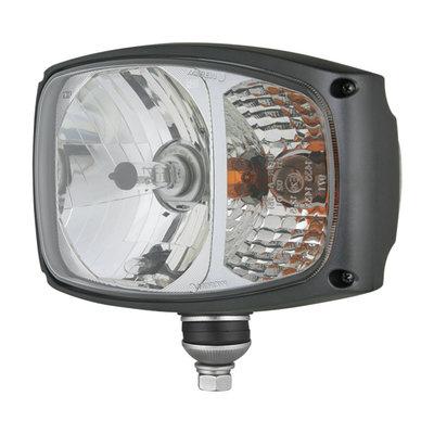 Headlight With Direction Indicator RGV1B Left 24V