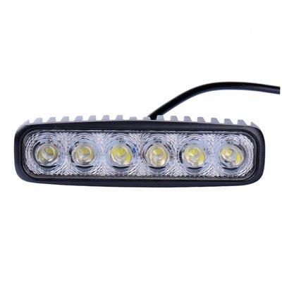 18W LED Work Light Rectangle Basic
