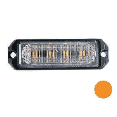 LED flasher 4-fold Ultra Flat orange