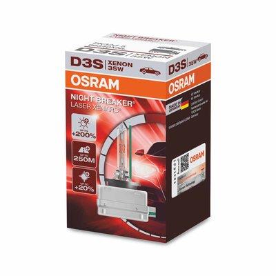 Osram D3S Xenon Light 35W Night Breaker Laser PK32d-5