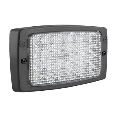 Wesem Built-in Tractor LED Work Light Withe Frame 184x102mm