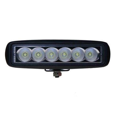 18W LED Work Light Flood Rectangle Basic