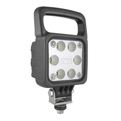 LED Work Light Flood Wit Handle 2500LM + Deutsch-DT