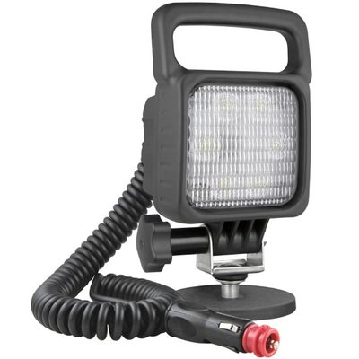 LED Work Light 2500LM Flood With Magnetic Holder and 8m Spiral Cable