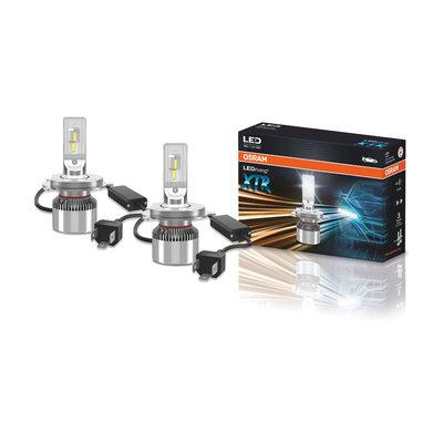 Osram H4 XTR LED Headlamp 12V P43t Pair