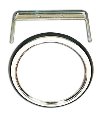 Chrome Ring For LED  Lamps Round