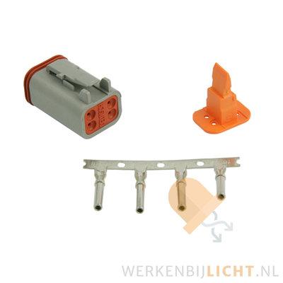 Deutsch-DT 4-pins female connector