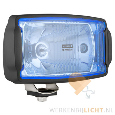 Driving Light HP5 blue With LED Parking Light