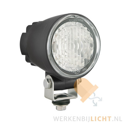 LED fog light with built-in AMP Faston connector