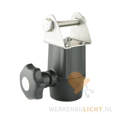 Bracket compatible with DIN14640 (for pipe Ø30)