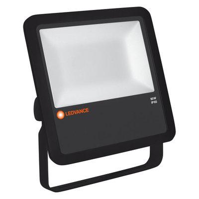90W LED Floodlight 230V Black