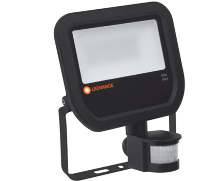 50W LED Floodlight 230V + Sensor