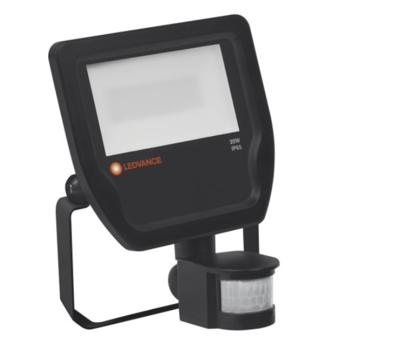 20W LED Floodlight 230V With Sensor