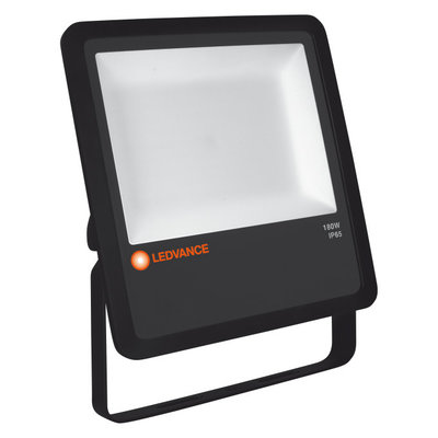 135W LED Floodlight 230V Black