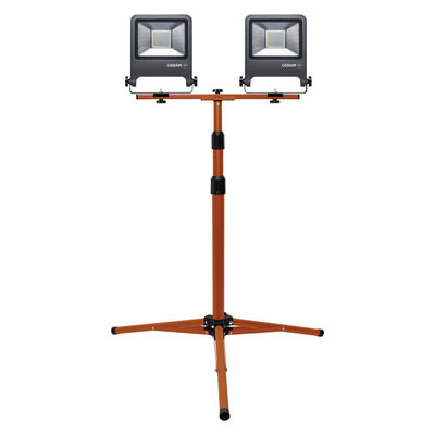Osram 2X50W LED Bouwlamp op statief