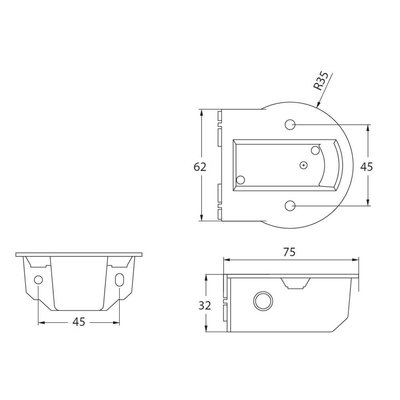 Side Mounting Plate MB10