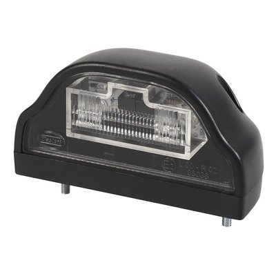 Led Number Plate Lamp Black