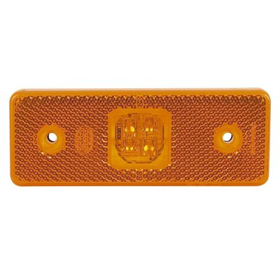 Led Side Marker Lamp Orange 24V