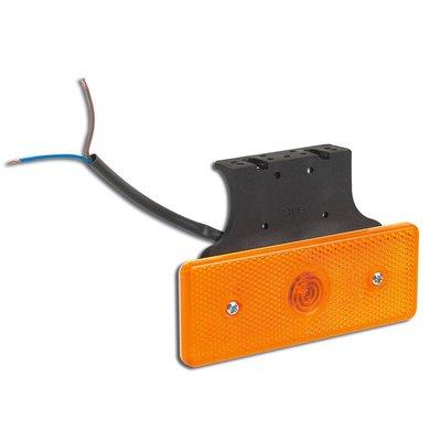Led Side Marker Lamp With Angled Bracket 10-30V