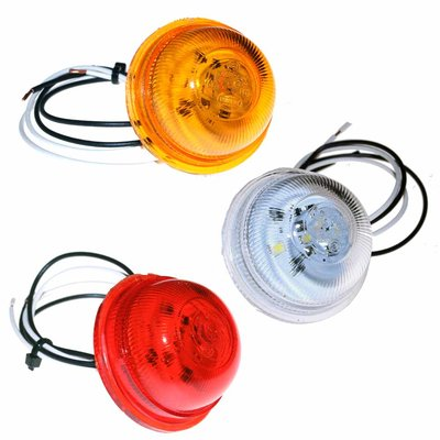 LED Marker Lamp Unit Red, White or Amber