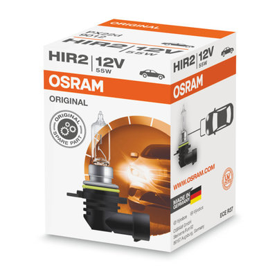 Osram HIR2 Halogen Bulb 12V PX22d Original Line