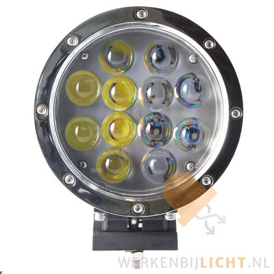 60W LED Driving Light Chrome