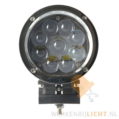 45W LED Driving Light Chrome