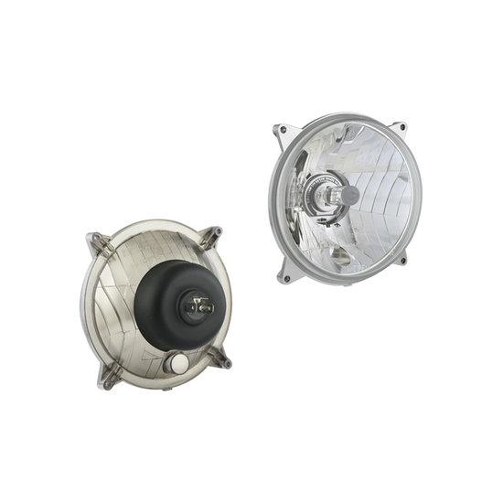 Headlamp H4 Ø139x75 4-bolts mounting