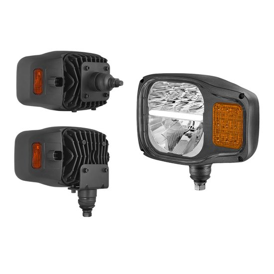 LED Headlamp With Direction indicator Left K2