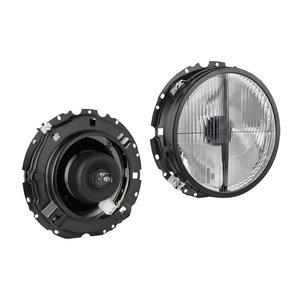 Headlight VW Golf I Tuning, Lampenglas: Ø178mm
