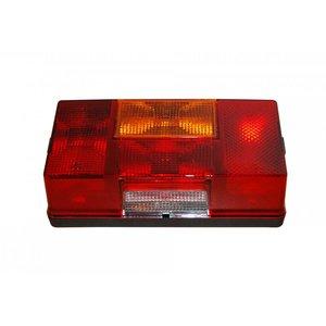 Hella Rear Lamp 5 Functions Left + License Plate Light