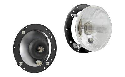 Headlamp R2 Ø182x89 Incl 12V Bulbs