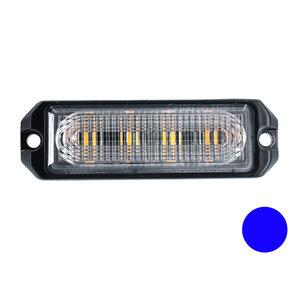 LED flasher 4-fold Ultra Flat Blue